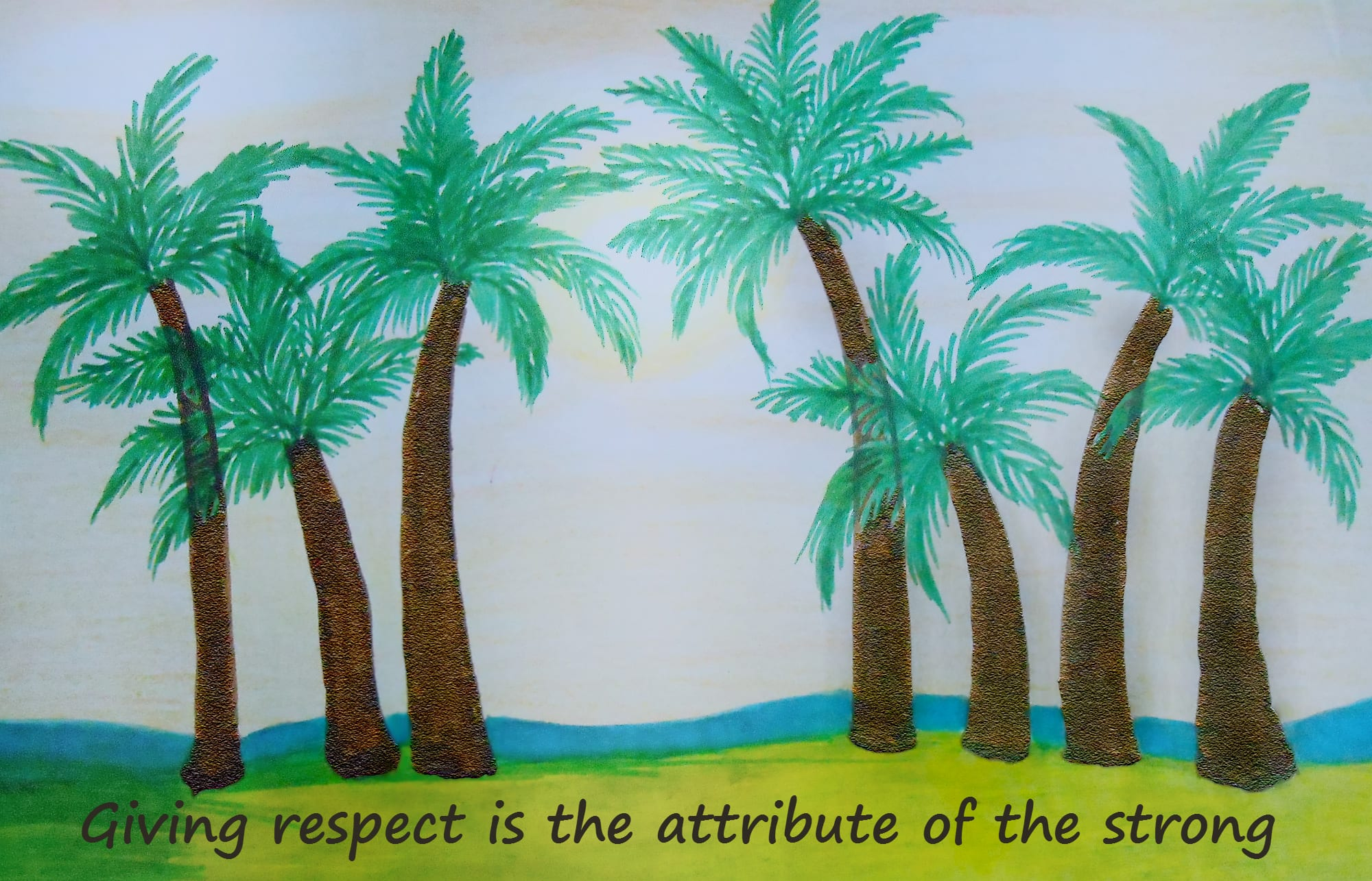giving-respect-is-the-attribute-of-the-strong