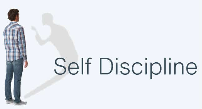 Self Discipline is a first step in parenting.